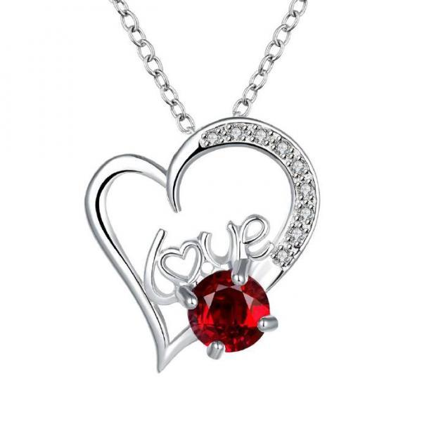 Jenny Jewelry N022-A Silver plated necklace brand new design pendant necklaces jewelry for women