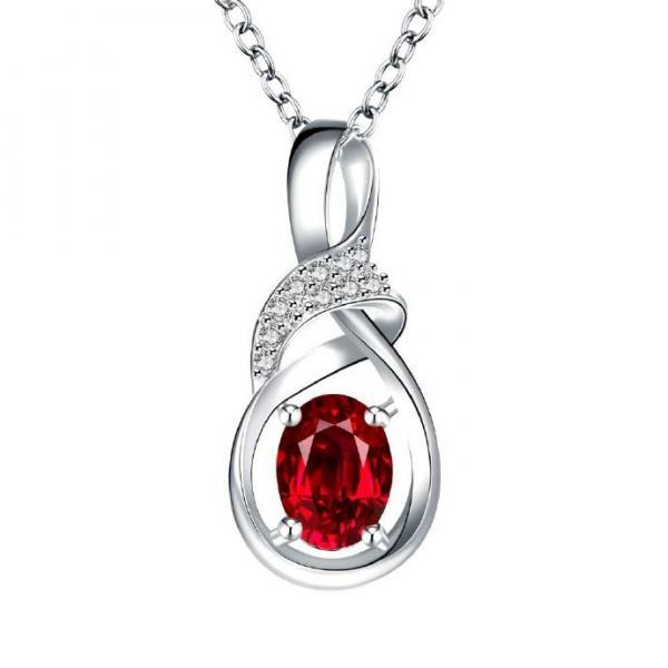 Jenny Jewelry N028-A Silver plated necklace brand new design pendant necklaces jewelry for women