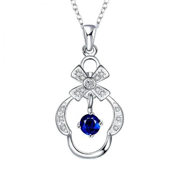 Jenny Jewelry N051-A High Quality New Style Fashion Jewelry Silver Plating Necklace